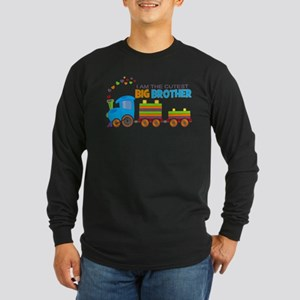 I am the Cutest Big Brother - Train Long Sleeve T-