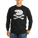 Artist's Jolly Roger Long Sleeve T-Shirt, Dark