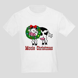 Xmas Cow Kids T-Shirt