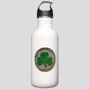 Shamrock And Celtic Knots Water Bottle