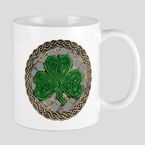 Shamrock And Celtic Knots Mug