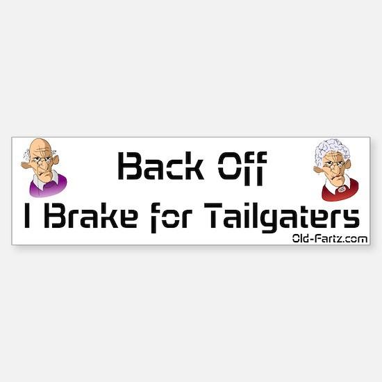 I Brake Sticker (Bumper)