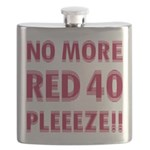 No More Red 40 Flask