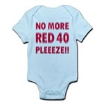 No More Red 40 Infant Bodysuit