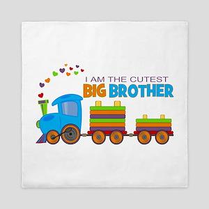 I am the Cutest Big Brother - Train Queen Duvet