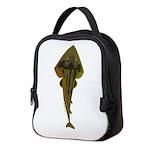 Guitarfish shark v Neoprene Lunch Bag