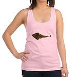 Guitarfish Ray fish Racerback Tank Top