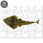 Guitarfish Ray fish Puzzle