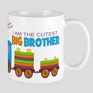 I am the Cutest Big Brother - Train Mug