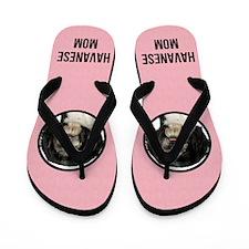 Havanese Mom Flip Flops