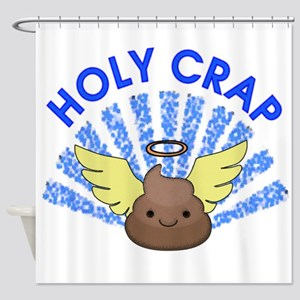 Holy Crap Shower Curtain