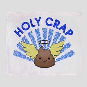 Holy Crap Throw Blanket