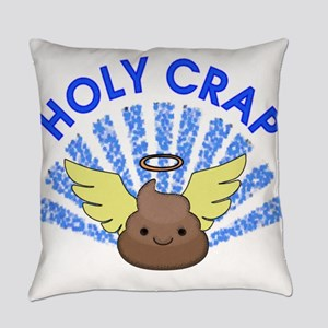 Holy Crap Everyday Pillow