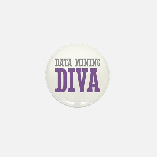 Data Mining DIVA Mini Button