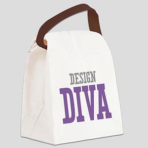 Design DIVA Canvas Lunch Bag