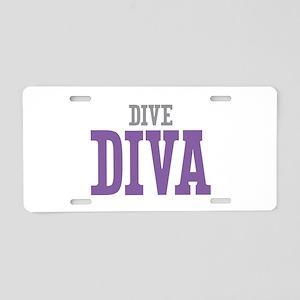 Dive DIVA Aluminum License Plate