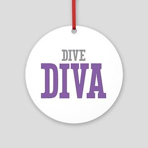 Dive DIVA Ornament (Round)