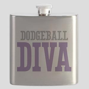 Dodgeball DIVA Flask