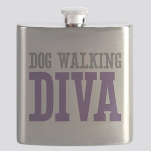 Dog Walking DIVA Flask