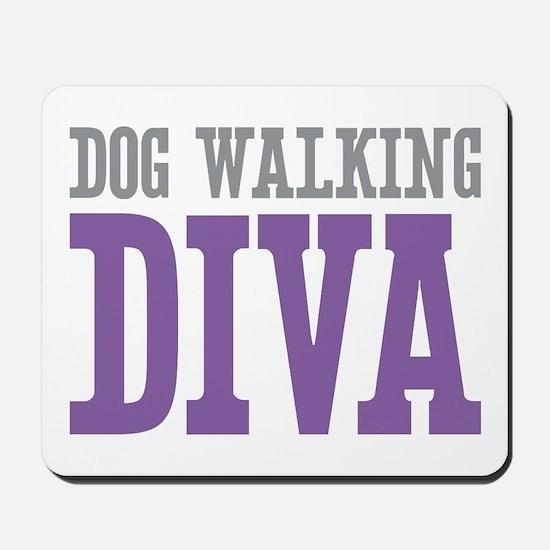 Dog Walking DIVA Mousepad