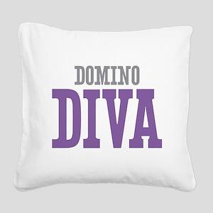 Domino DIVA Square Canvas Pillow