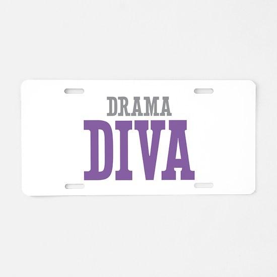 Drama DIVA Aluminum License Plate