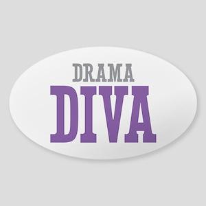 Drama DIVA Sticker (Oval)