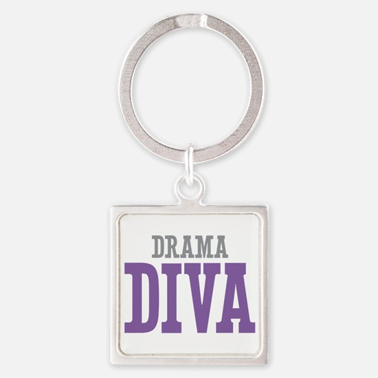 Drama DIVA Square Keychain