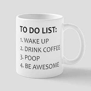To Do List Mug Mugs