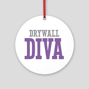 Drywall DIVA Ornament (Round)