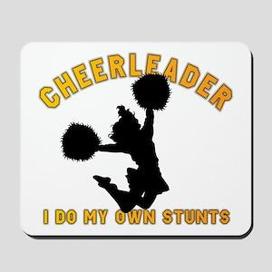 Funny Cheerleader Mousepad