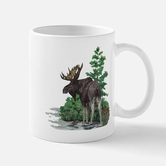 Bull moose art Mug