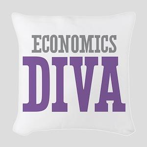 Economics DIVA Woven Throw Pillow