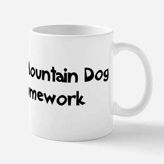 Bernese Mountain Dog ate my h Mug