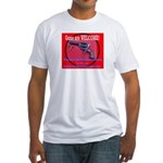 GunsWELCOME Fitted T-Shirt