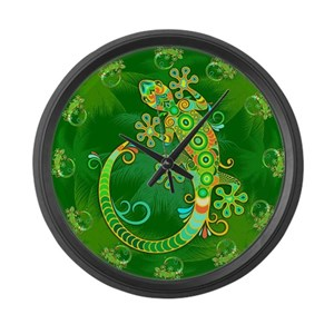 e1ddac029 Reptiles Wall Clocks - CafePress