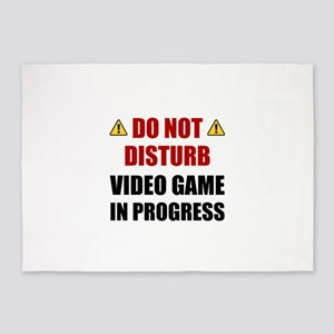 Do Not Disturb Video Game 5'x7'Area Rug