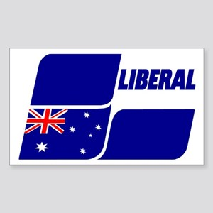 Liberal Party Logo Sticker (Rectangle)