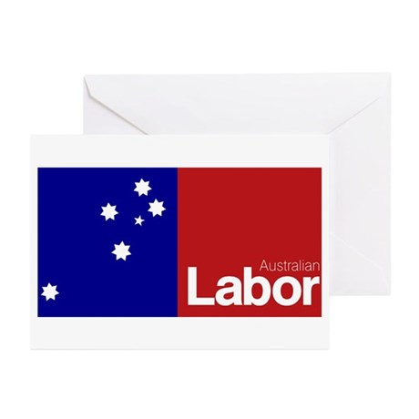 Labor Party Logo Greeting Cards (Pk of 20)