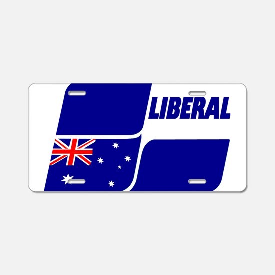 Liberal Party Logo Aluminum License Plate