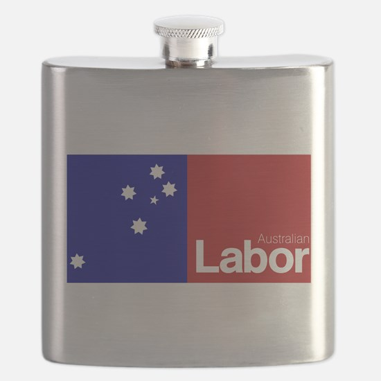 Labor Party Logo Flask