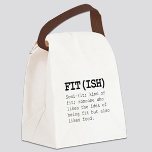 Fitish Also Like Food Canvas Lunch Bag