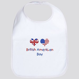 British American Boy Bib
