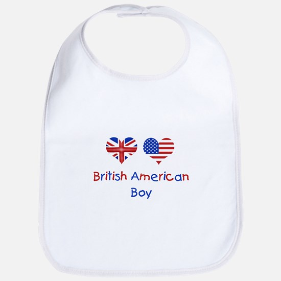British American Boy Bib