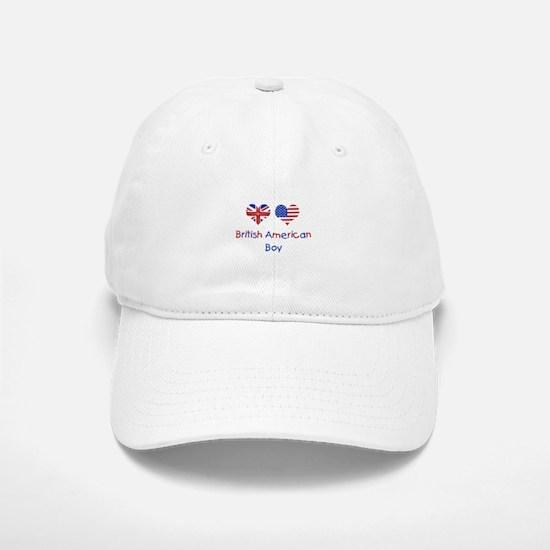 British American Boy Baseball Baseball Cap