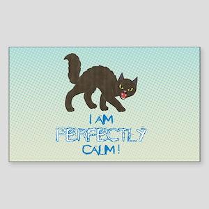 Perfectly Calm Sticker