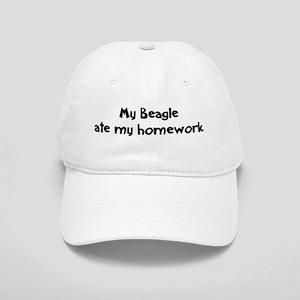 Beagle ate my homework Cap