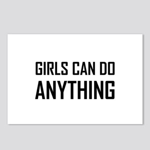 Girls Can Do Anything Postcards (Package of 8)