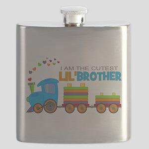 Cutest Lil Brother - Train Flask