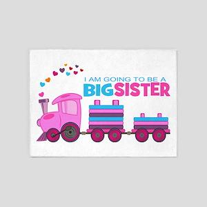 Big Sister - Train 5'x7'Area Rug